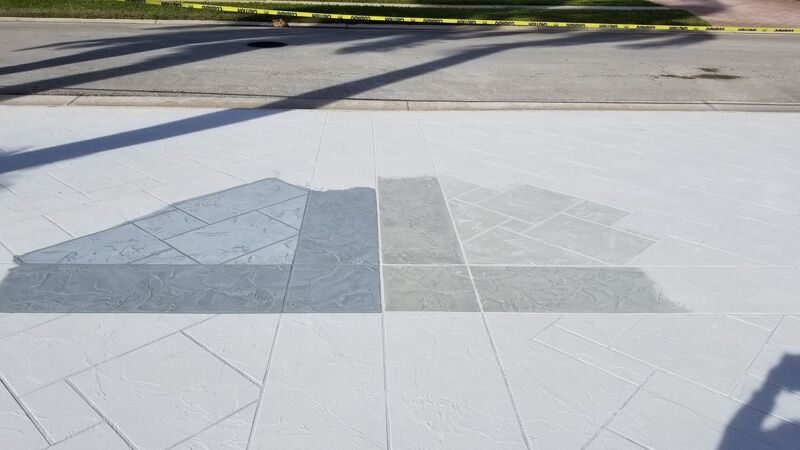 pattern and color options for stamped concrete